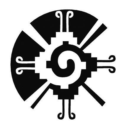 Hunab Ku - Mayan version of the Yin-Yang