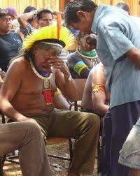 Chief of the KayapoTribe