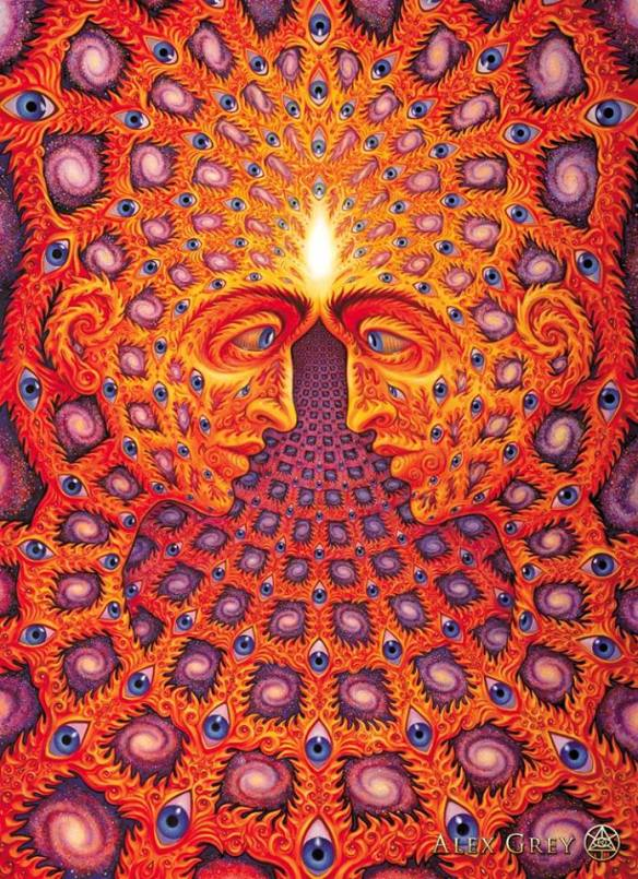 'One' by Alex Grey